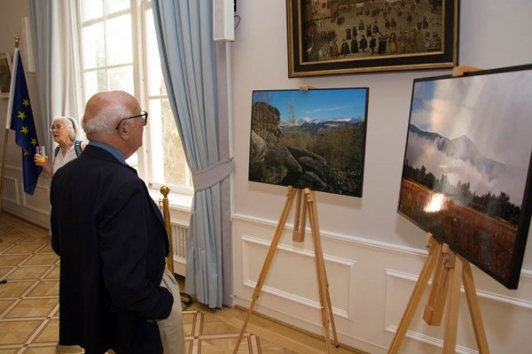 """Uroczyste otwarcie wystawy fotografii """"Karkonosze"""""""